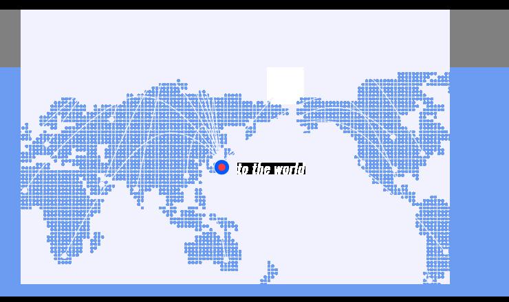 Worldの地図